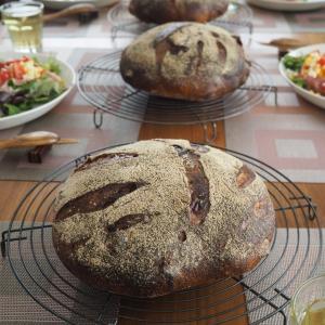 今日もナッツと無花果のシュトーレン&メープルナッツカンパのレッスン