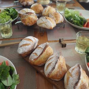 午前午後でメロンパン&タバチェのレッスン