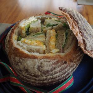 今日も基本のレッスン第2章捏ねないホシノ③パン・ド・カンパーニュ④食パン
