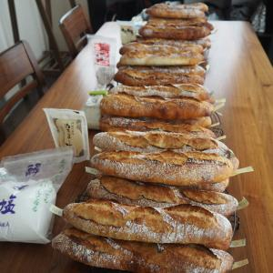 今日もまたまた、ホシノで塩違いバゲット6種の食べ比べレッスン