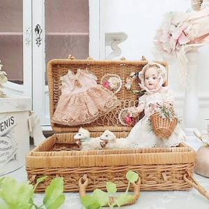 ★☆ プレゼンテーションパニエ『花かごを持つ少女』  ★☆