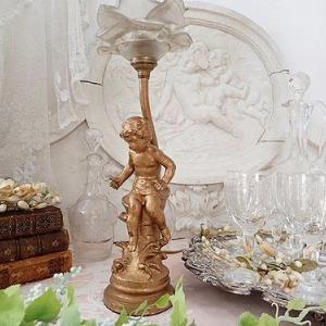 ★☆ 薔薇と天使のテーブルランプ ★☆