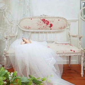 ★☆ 優美 宮廷のサロンチェア 薔薇のセティ ★☆