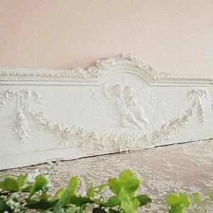 ★☆ レア フランス邸 薔薇と天使のぺディメント ★☆
