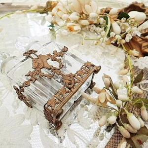 ★☆ オルモル 花かご装飾パフュームボトル ★☆