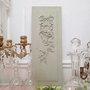 ★☆ 家具の装飾美 バスケット彫刻のパネル(A)  ★☆