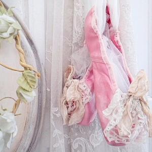 ★☆ 甘美 レース装飾のバレエシューズ ★☆