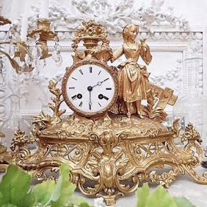 ★☆ マントル置時計オーロージュ『小鳥のくちづけ』 ★☆