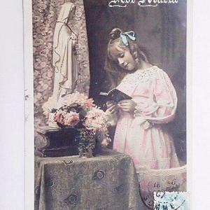 ★☆ ポストカード(少女の祈り) ★☆