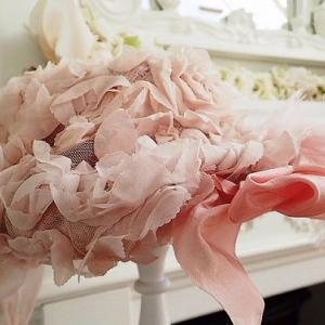 ★☆ 甘美な薔薇とリボンのレディハット ★☆