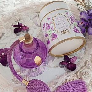 ★☆ Violettes アトマイザー付き スミレの香水瓶 ★☆