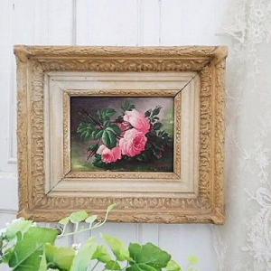 ★☆ 静物画 薔薇の油絵 ★☆