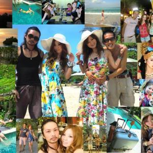 バリ島「 Wカップル 」ハネムーン