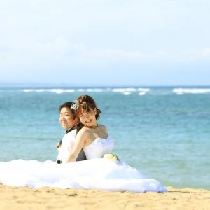 バリ島ウエディング・ロケーションフォト ~ビーチフォト編~