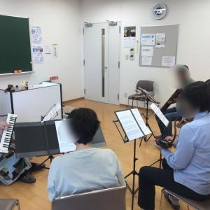 梅田と神戸で鍵盤ハーモニカアンサンブル!男性の仲間が増えました!