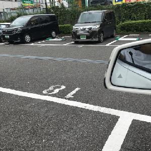 駐車場の怪