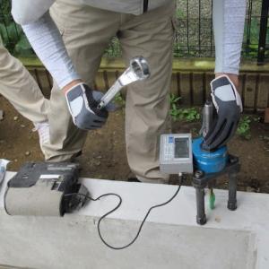 アンカーボルトの耐力測定