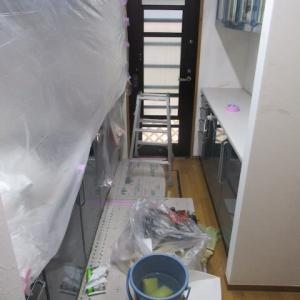 台所のクロス張替え