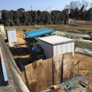 物置小屋・資材置場の移設