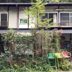 日向大神宮 参道 ゲストハウス閑話堂