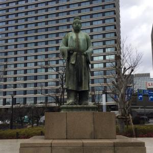 和気清麻呂公銅像 平川門
