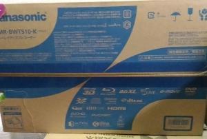 Panasonic DIGA HDDブルーレイディスクレコーダー DMR-BWT510