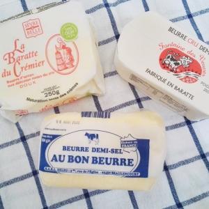 フランスバター食べ比べと虫アクセサリーとクッキー!