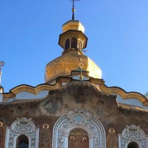 ウクライナ旅行・4日目 ペチェールスカ修道院