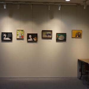 展示会の絵