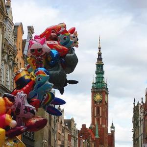 2019ポーランド旅行・5日目 ワルシャワ→港町グダニスク!