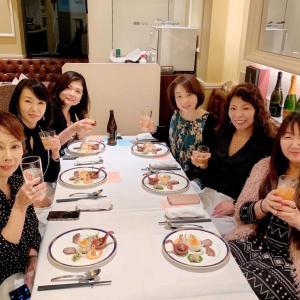 オーナーマダム達との会食は飲み放題の中華料理