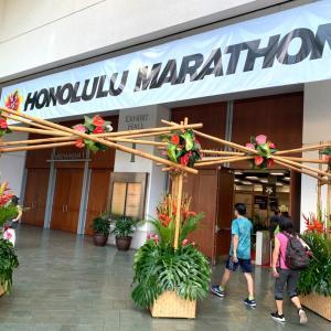 ホノルルマラソンEXPO開始@コンベンションセンター