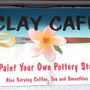 陶器に自分で好きなペイントが出来るスタジオ@Clay  Cafe