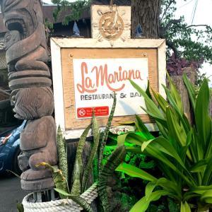 ハワイのオールドスタイルのレストラン@La Marina Sailing Club