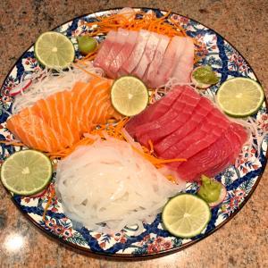 友人を招いたお家ご飯は日本食でお持て成し