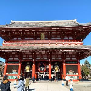 日本の歴史探検浅草の雷門周辺そぞろ歩き