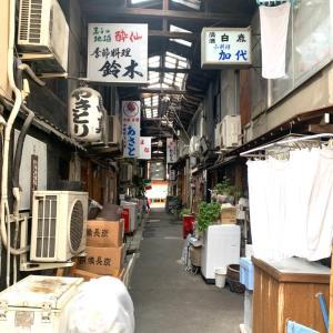 友人とノスタルジックで昭和の雰囲気がする谷中銀座を散策
