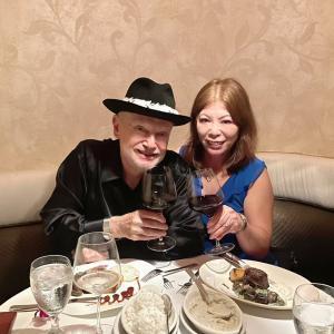 結婚33周年記念日ディナー@The Signature prime steak