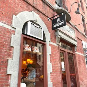 ニューヨークでお寿司のお任せ堪能@Korami
