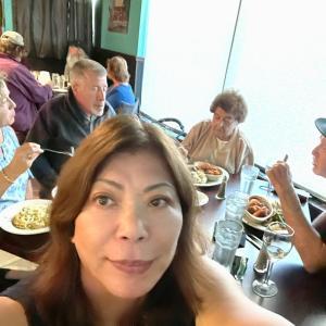 ロードアイランドの親戚ファミリーとディナー