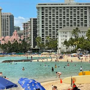 5週間ぶりにアトランタからハワイへ戻りました。