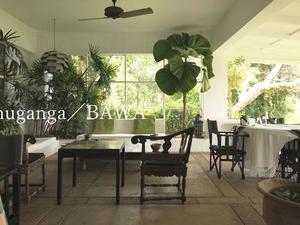 3年程前に訪れた、ジェフリー・バワ設計のルヌガンガのMain Houseの動画を作ってみました。