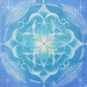 今日の天使の曼荼羅色言葉紡ぎ