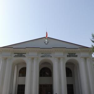 タジキスタン旅行~国立古代博物館~