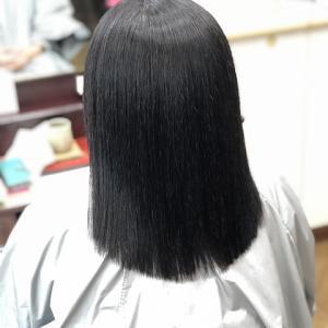 縮毛矯正ファイル90(定期的な白髪染あり、スピエラ縮毛矯正)
