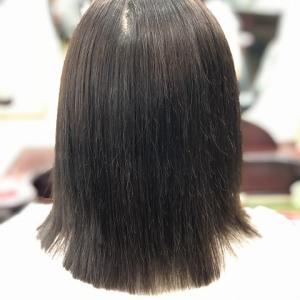 縮毛矯正ファイル91(定期的な白髪染)