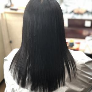 縮毛矯正ファイル92(珍しく カラーなしの健康毛)