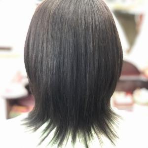 縮毛矯正ファイル94(定期的な白髪染め)