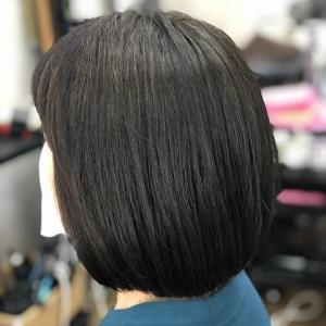 天然100%ヘナで白髪染(2度染)
