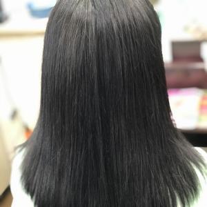 天然100%ヘナで白髪染め(2度染め)